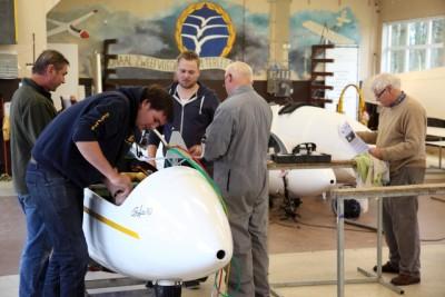 Onderhoud aan GeZC zweefvliegtuigen