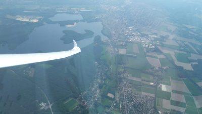 Luchtfoto overlandtraining